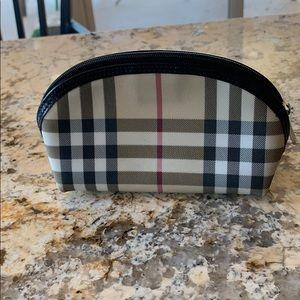 Authentic Burberry Makeup Bag